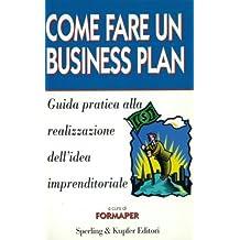 guida al business plan formaper