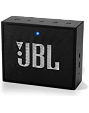 (Renewed) JBL Go + Portable Wireless Bluetooth Speaker with Mic (Black)