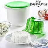 Always Fresh Kitchen Easy Cheese Maker Molde para Hacer Queso Casero, Verde, 18 x 14,5 x 13 cm