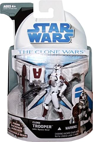 Clone Trooper with Space Gear CW21 - Star Wars The Clone Wars 2008 von Hasbro