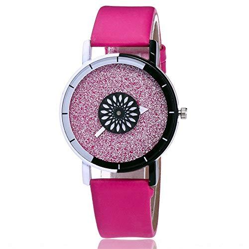 Uhren Damen Armbanduhr Sportuhr Frauen Casual Quartz Lederband Strap Uhr Analoge Armbanduhr Klassisch Uhr Mode Uhrenarmband,ABsoar