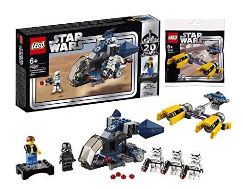 LEGO Star Wars 75262 - Imperial Dropship - 20 Jahre Star Wars, Bauset Podracer Star Wars Bauspiele - 30461, Mehrfarbig