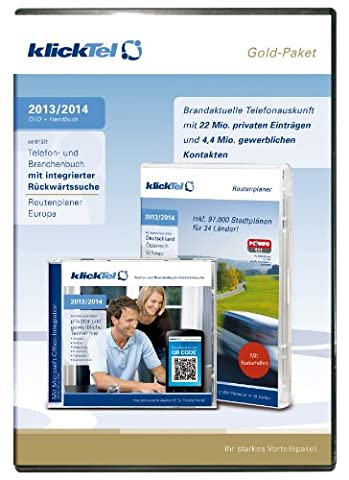 klickTel Gold-Paket 2013/2014