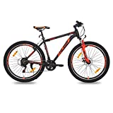 #8: Huge HDT17- 27.5Inch (Black/Red)Mountain Bicycle