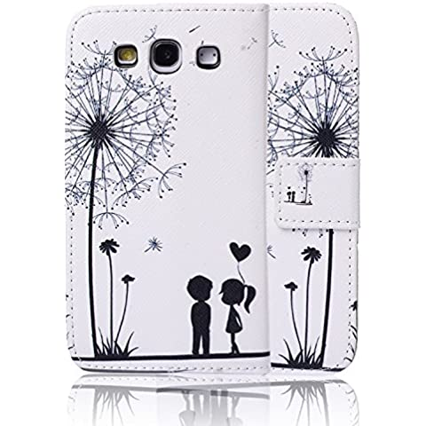 Tinxi CoverCase - Funda para móvil Samsung Galaxy S3 I9300/S3 Neo i9301, color blanco