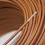 Verdrahtungsleitung H07V-K 10 mm² braun PVC-Einzelader feindrähtig, Cu-blank *Meterware*