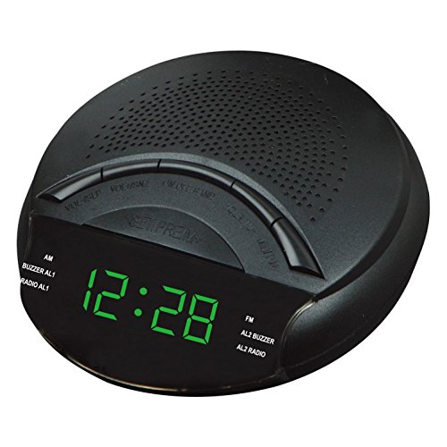 AM und FM-Radio-Kanal LED Zhong Zhong radios Radiowecker Snooze eröffnet , green - Bluetooth Flash
