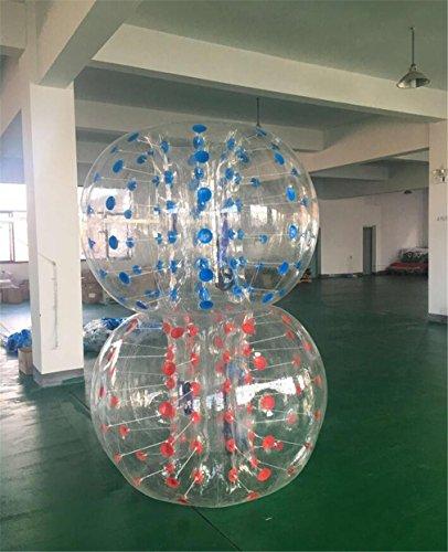 Ttyy bubble ball gonfiabile scuola / attività della comunità attività all'aria aperta sport e giochi intrattenimento pvc 1.3m (non includere pompa) , couple
