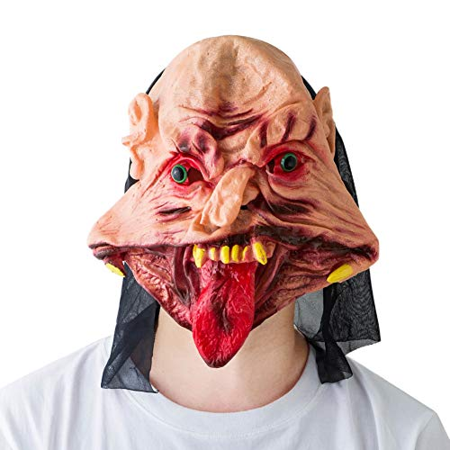 Forart Halloween Wolf Kopf Maske Wolf Maske für Halloween und Cosplay Kostüm Party Supplies
