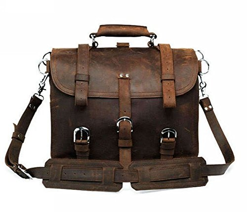 Jsix - Zaino da trekking, colore: marrone Dark-brown Brown