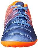 Puma  evoPower 4.3 TT Jr, Herren Fußballschuhe, mehrfarbig - Multicolore (Blue Yonder/Puma White/Shocking Orange) - Größe: 13,5J -