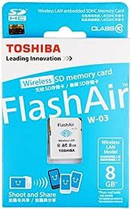 Toshiba Flash Air Memory Card Kamera