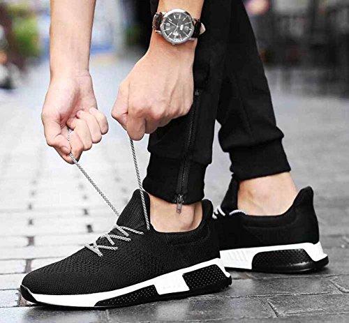 Uomini Traspirante Scarpe Da Corsa In Autunno Inverno Nuove Scarpe Da Ginnastica Casual Athletic Shoes Black