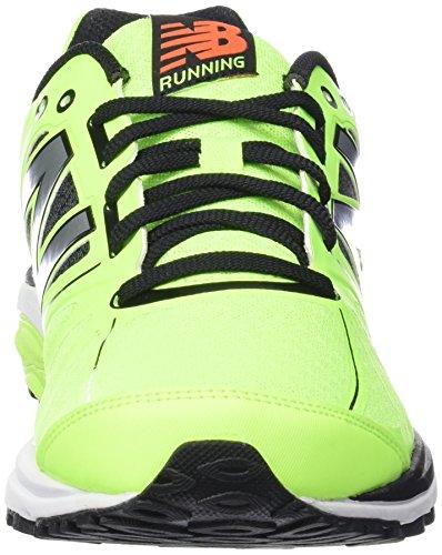 New Balance Herren, Funktionsschuh, M770 Running Light Stability Grün (Green/Black)