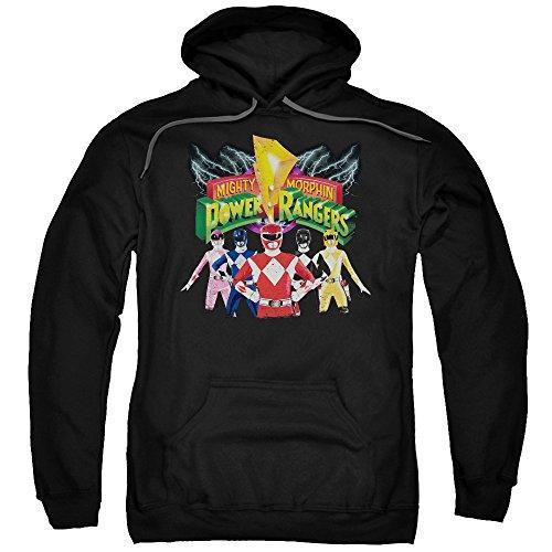 Power Rangers - Herren Rangers Unite Kapuzenpulli, XX-Large, (Power Rangers Hoodie)