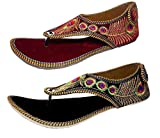 Rajasthani Ethnic Wear Chappal Combo Pack (Ind/Uk-8)