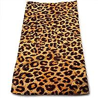 ewtretr Toallas De Mano,Leopard Print.jpg Cool Towel Beach Towel Instant Gym Quick