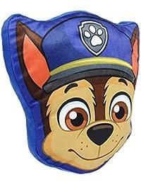 Cerdá Cojin Forma Paw Patrol Chase, Calentadores para Niños, (Azul 3), One Size (Tamaño del Fabricante:única)