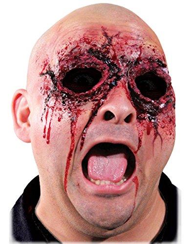 vil Latexwunde als Make-up Zubehör für Halloween & Fasching (Halloween Zubehör Make Up)