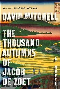 The Thousand Autumns of Jacob de Zoet par David Mitchell