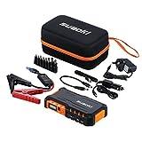 Suaoki G7 Jump Starter 600A for 12V Car Diesel Petrol, LED Flashlight, 18000mAh Battery Pack with Dual USB Ports 12V 16V 19V for Phone Tablet Laptop, Orange