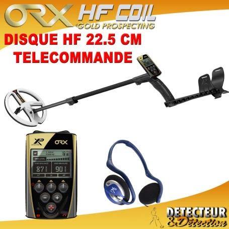 XP Metal Détecteur ORX - Disque 22 HF avec télécommande