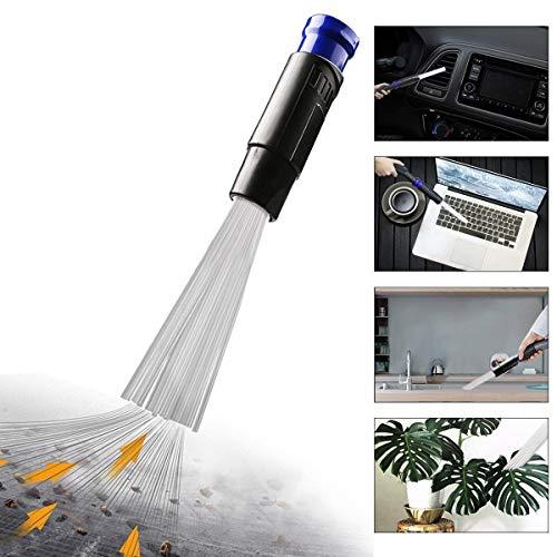 Dust Bürste Universal 30-35mm Staubsaugeraufsatz Pinsel Daddy Staubsaugerbürste Reinigungswerkzeuge klein Reinigungsbürste Auto PC CD Bildschirm (Grau)