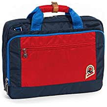 "'Bolso Trabajo – Invicta Office 13 ""Blue Rojo bicolor – Porta Pc y Tablet hasta 13 – Rain carcasa"