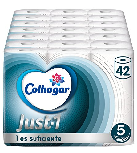 Colcasa Toilettenpapier Just 1-42 Rollen