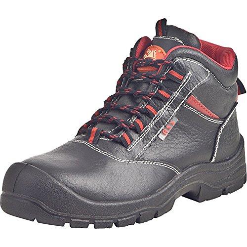 Sicherheitsschuhe Leder, Halbschuhe, Stiefel schwarz 660233-1 schwarz