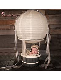 Bonnet bébé aviateur au crochet nouveau né à 6 mois 0/6 mois,6/12 mois