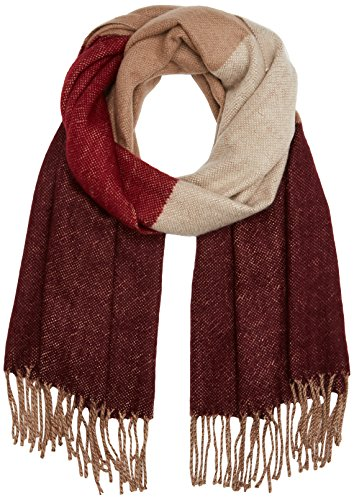 PIECES Damen Schal Pcjulla Long Scarf Mehrfarbig (Ginger Snap), One Size