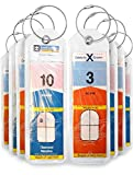 Cruise Luggage Tags Holders 8 Pc for Royal Caribbean & Celebrity Cruise Ships (Eight-New)