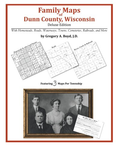 Family Maps of Dunn County, Wisconsin