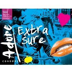 Pasante Pasante Adore Extra Sure Bulk 144 Uds 144 g 10 Sexo seguro, condones y contenido erótico | Más de condones