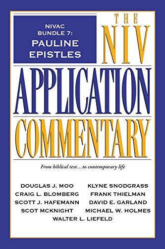 Nivac bundle 7 pauline epistles the niv application commentary nivac bundle 7 pauline epistles the niv application commentary by moo fandeluxe Gallery