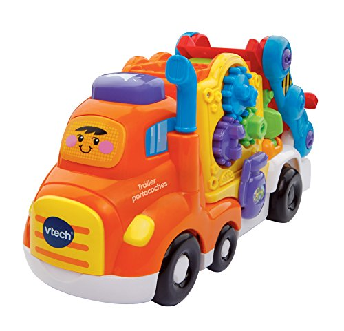 VTech-80-189522 Camion transporta Coches, Color...