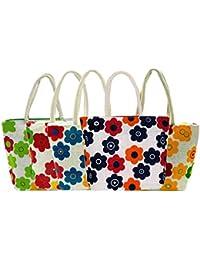 Women's Designer Shoulder Jute Bag Assorted Pack Of 1