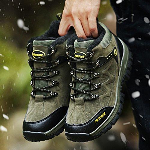 XI-GUA ,  Scarponcini da camminata ed escursionismo uomo Grün