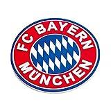 Magnet Emblem FC Bayern MÜNCHEN + gratis Sticker München forever, FCB, Kühlschrankmagnet