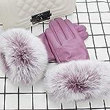 Touchscreen-Handschuhe Frau Winter Mund Touchscreen Baumwolle Plus Samt Verdickung warm Radfahren koreanische Version der Hand