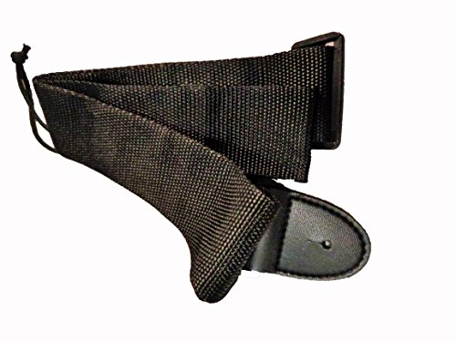 Acoustic Electric Nylon (New Black Nylon Adjustable Acoustic Electric Soft Guitar Bass Strap Youth Kids)