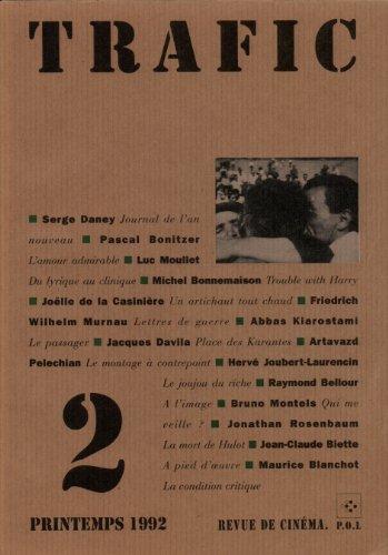 Trafic numéro 2 : printemps 1992