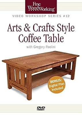 Video Workshop Series #12: Arts & Crafts Coffee Table [DVD] [Region 1] [NTSC]