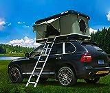 BMDHA Car Roof Roof-Roof Top Carpa Impulso Hidráulico 215 × 130 × 100Cm con Capacidad para 2-3 Personas Acampar Y Viajar,Black