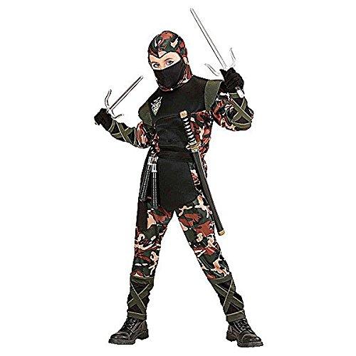 Ninja Kämpfer Kostüm Kinder Gr. (Oriental Chinese Kostüm)