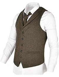 Vests Men's Clothing 2019 Latest Design 2018 Men Slim Military Winter Brand Casual European Style Vest Waistcoat Mens New Army Green Woolen Multi-pockets Suit Vest