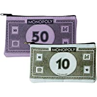 Monedero, diseño de billete de Monopoly