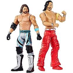 WWE AJ Styles vs Shinsuke Nakamura, Playset 2 Personaggi, 15 cm, GDC04
