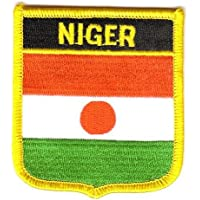 Wappen Aufnäher Patch Niger Flagge Fahne FLAGGENMAE®